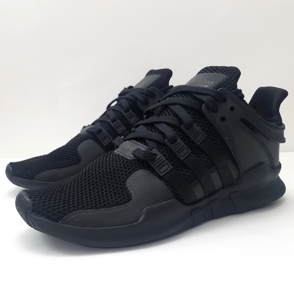 the latest d117e 7fd06 adidas Originals EQT Support ADV Triple Black